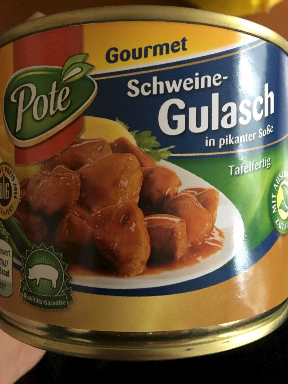 Gourmet Schweine-Gulasch in pikanter Soße - Produit - fr
