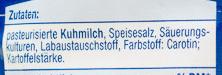 Gouda gerieben 45% Fett i. Tr. - Ingredients