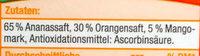 Premium Direktsaft Tropical - Ingredients