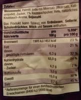 Mini Brotchips Knoblauch - Zutaten - de