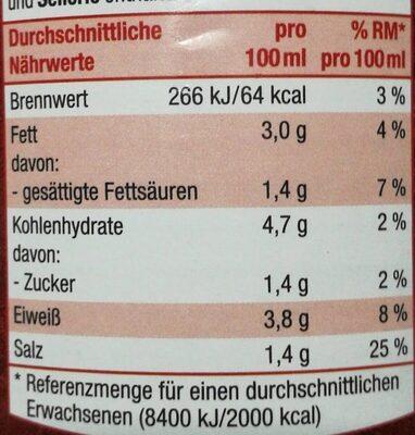 Gulaschsuppe - Nährwertangaben - de