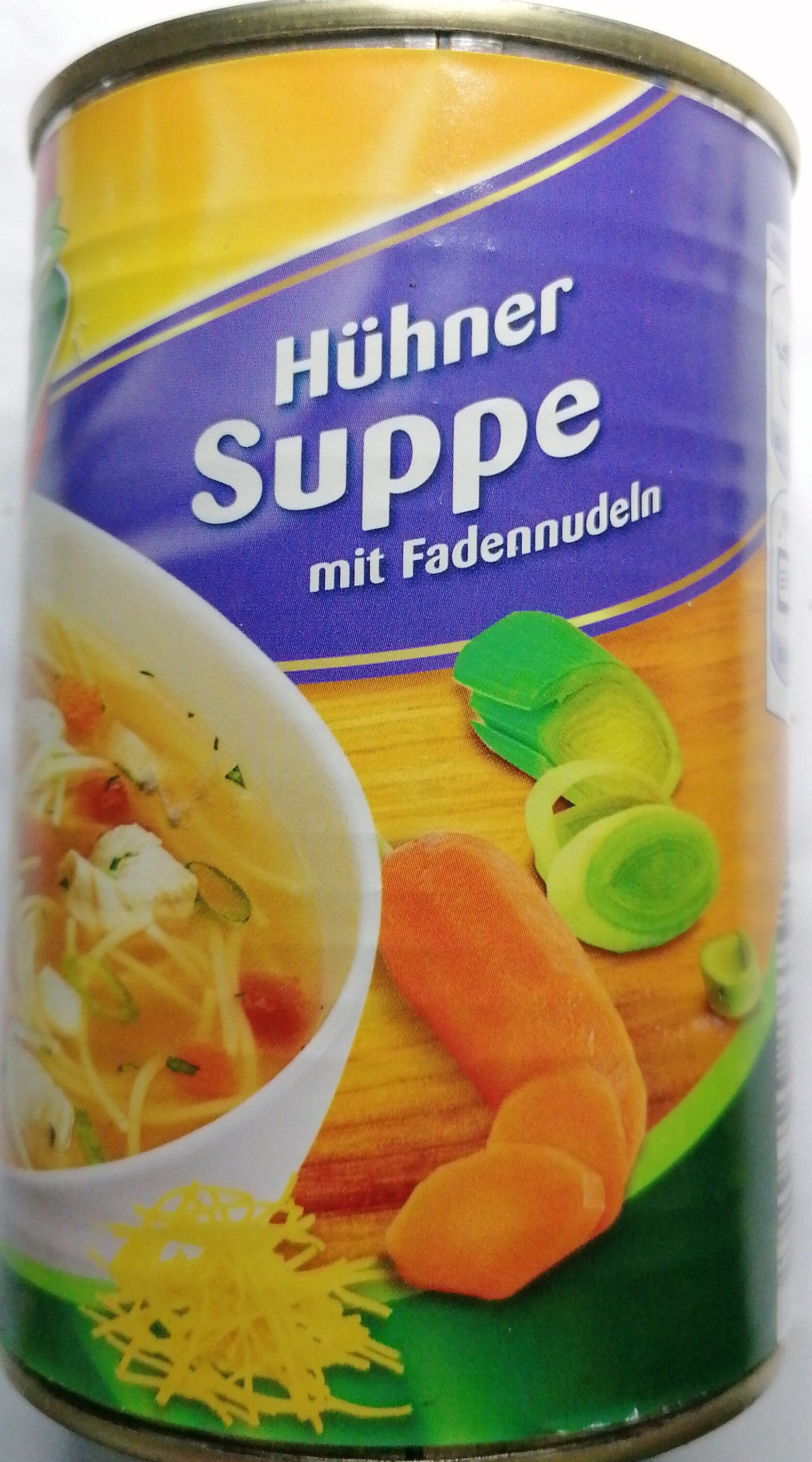 Hühnersuppe mit Fadennudeln - Product
