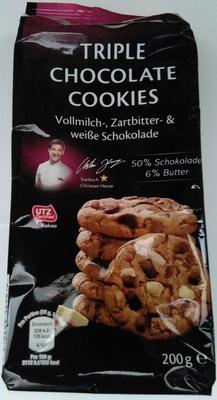 Triple Chocolate Cookies - Product
