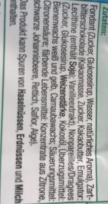 Schoko Creme- Nester - Ingrédients - de