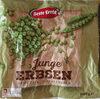 Junge Erbsen, sehr fein, tiefgefroren - Produkt