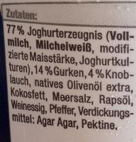 Zaziki - Ingredienti - de