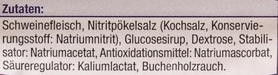 Gourmet Schinkenwürfel - Ingredients