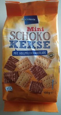 Mini Schokokekse (mit Vollmilchschokolade) - Produkt - de