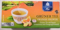 Grüner Tee Orange-Ingwer - Produit - de