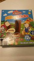 MilkySticks - Produkt