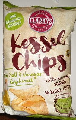 Kessel Chips: Sea Salt & Vinegar Geschmack - Produkt - de