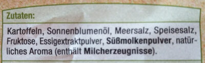 Kessel Chips: Sea Salt & Vinegar Geschmack - Zutaten - de