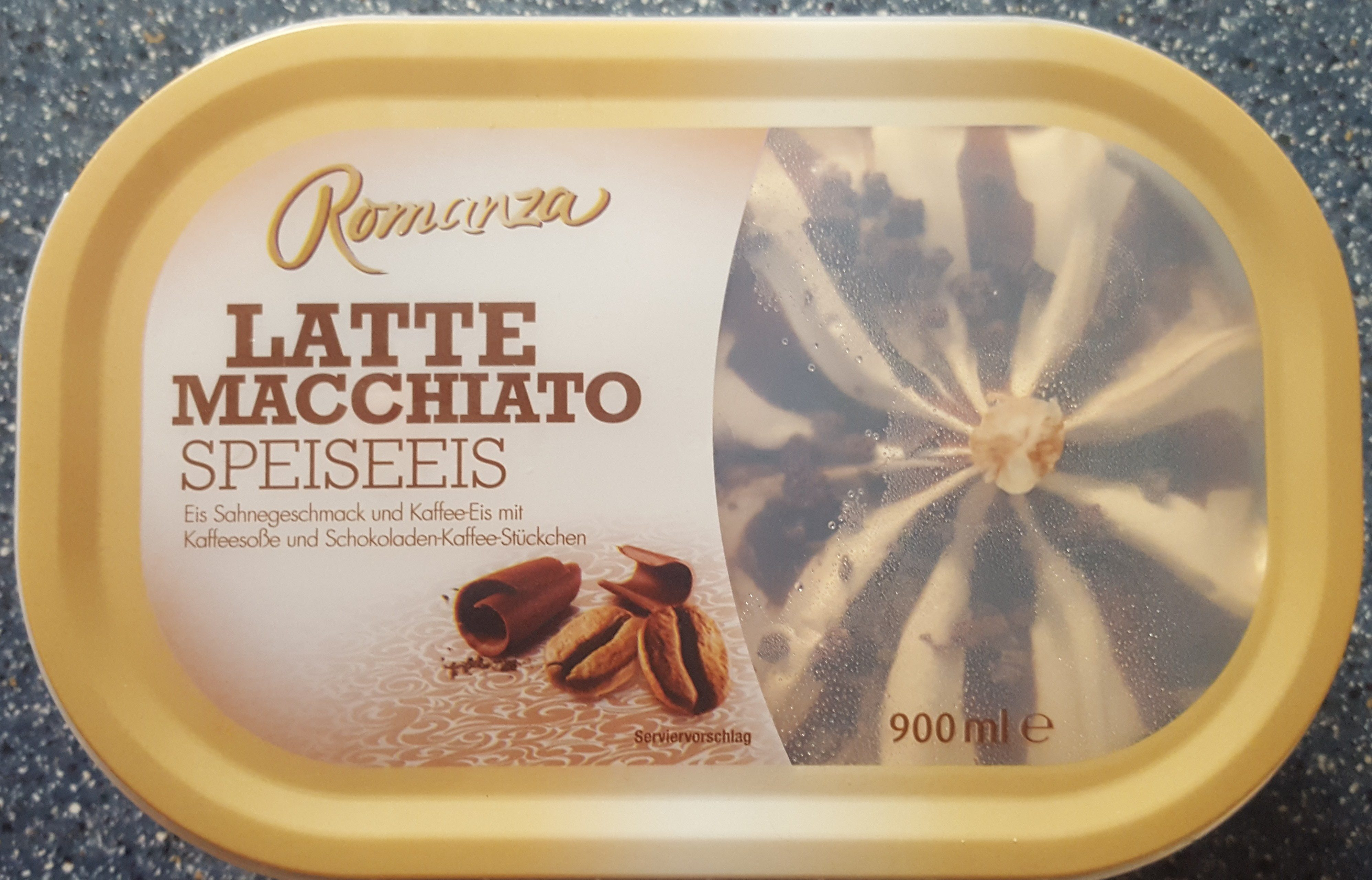Latte Macchiato Speiseeis - Product