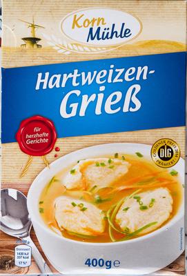 Hartweizen-Grieß - Prodotto - de