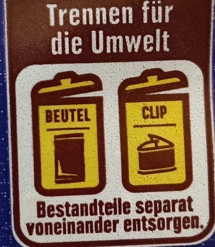 Vollkorn Toast - Recycling instructions and/or packaging information - de