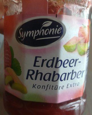Erdbeer-Rhabarber Konfitüre - Produit - fr