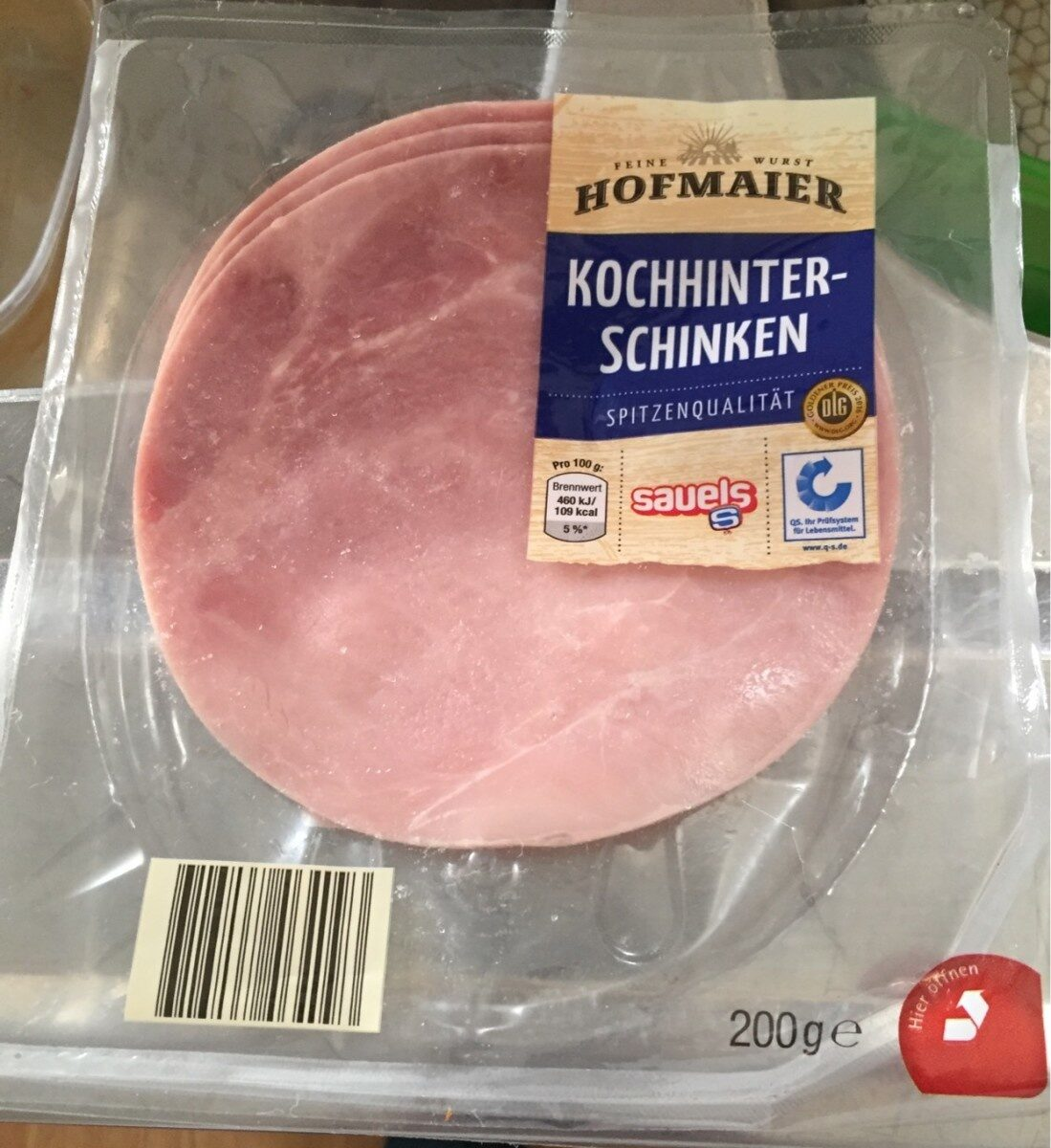 Kochhinterschinken - Produkt - de