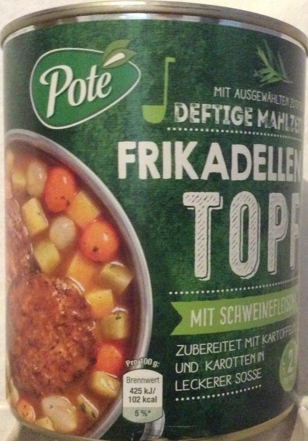 Deftige Mahlzeit Frikadellen Topf - Produkt - de