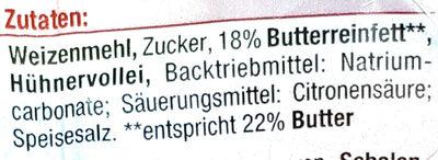 Butterspekulatius - Ingrédients