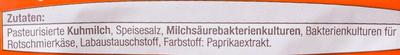 Limburger 40% Fett i. Tr. - Inhaltsstoffe