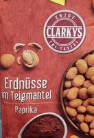 Erdnüsse im Teigmantel Paprika - Produkt - de