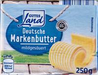 Deutsche Markenbutter mildgesäuert - Produit - de