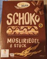 Müsli Riegel Schoko - Product - de