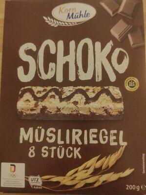Schoko Müsliriegel - Prodotto - de