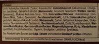 Schoko Müsliriegel - Ingredienti - de