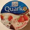 Quarkdessert mit Schokoraspeln Erdbeere - Produkt