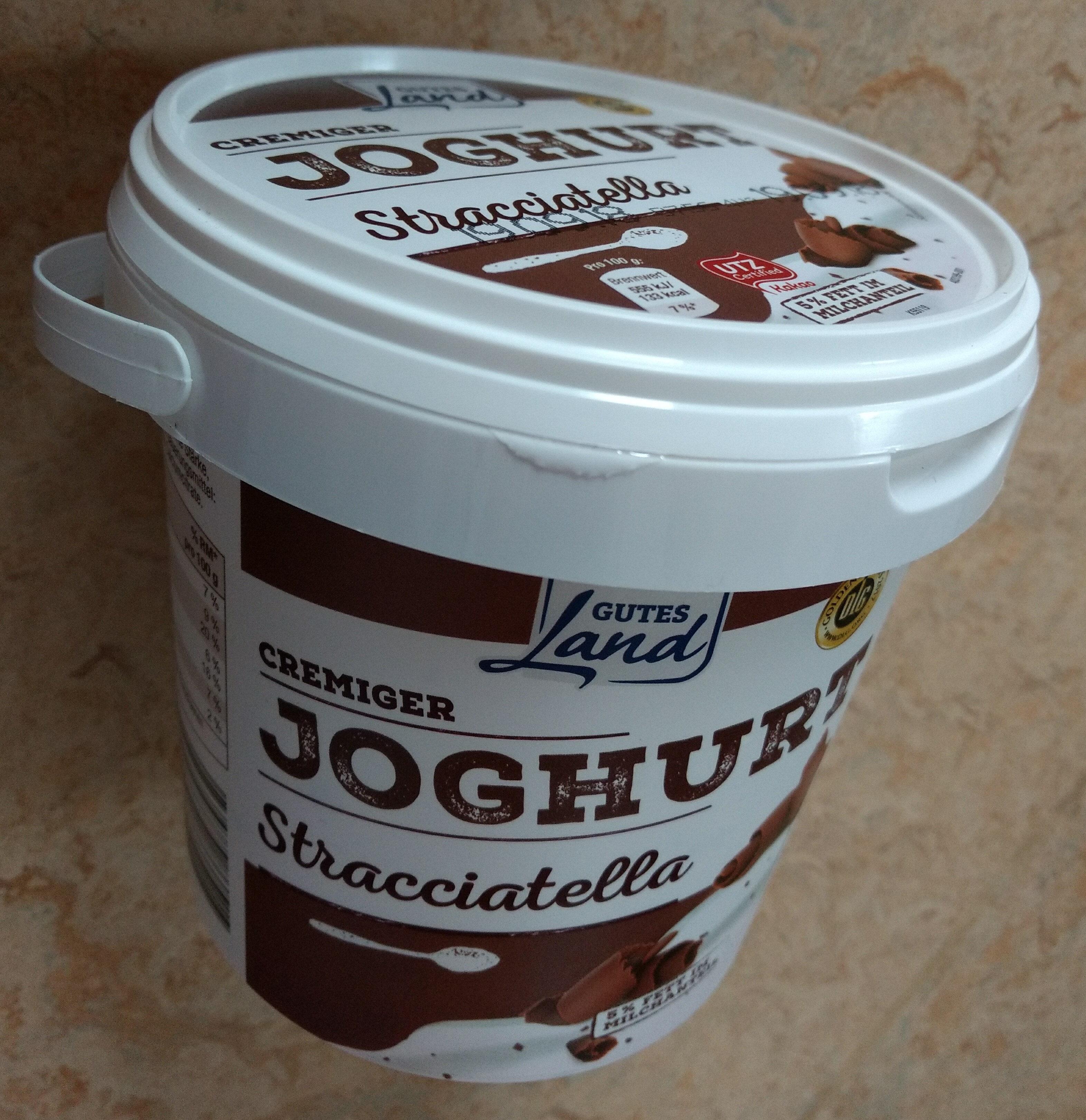 Cremiger Joghurt Stracciatella Gutes Land - Product - de