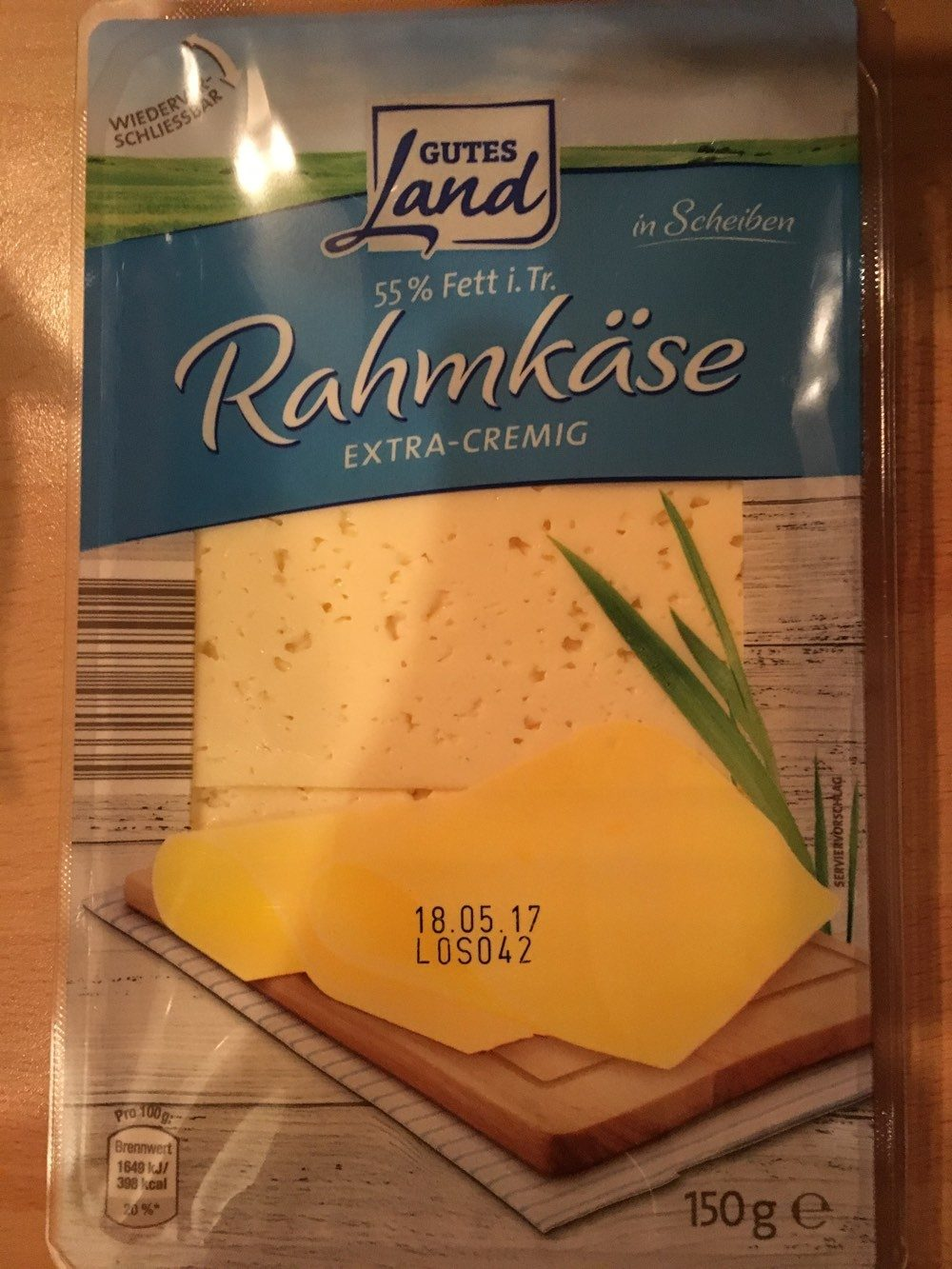 Rahmkäse - Produit