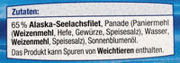 Fischstäbchen - Ingrédients - de