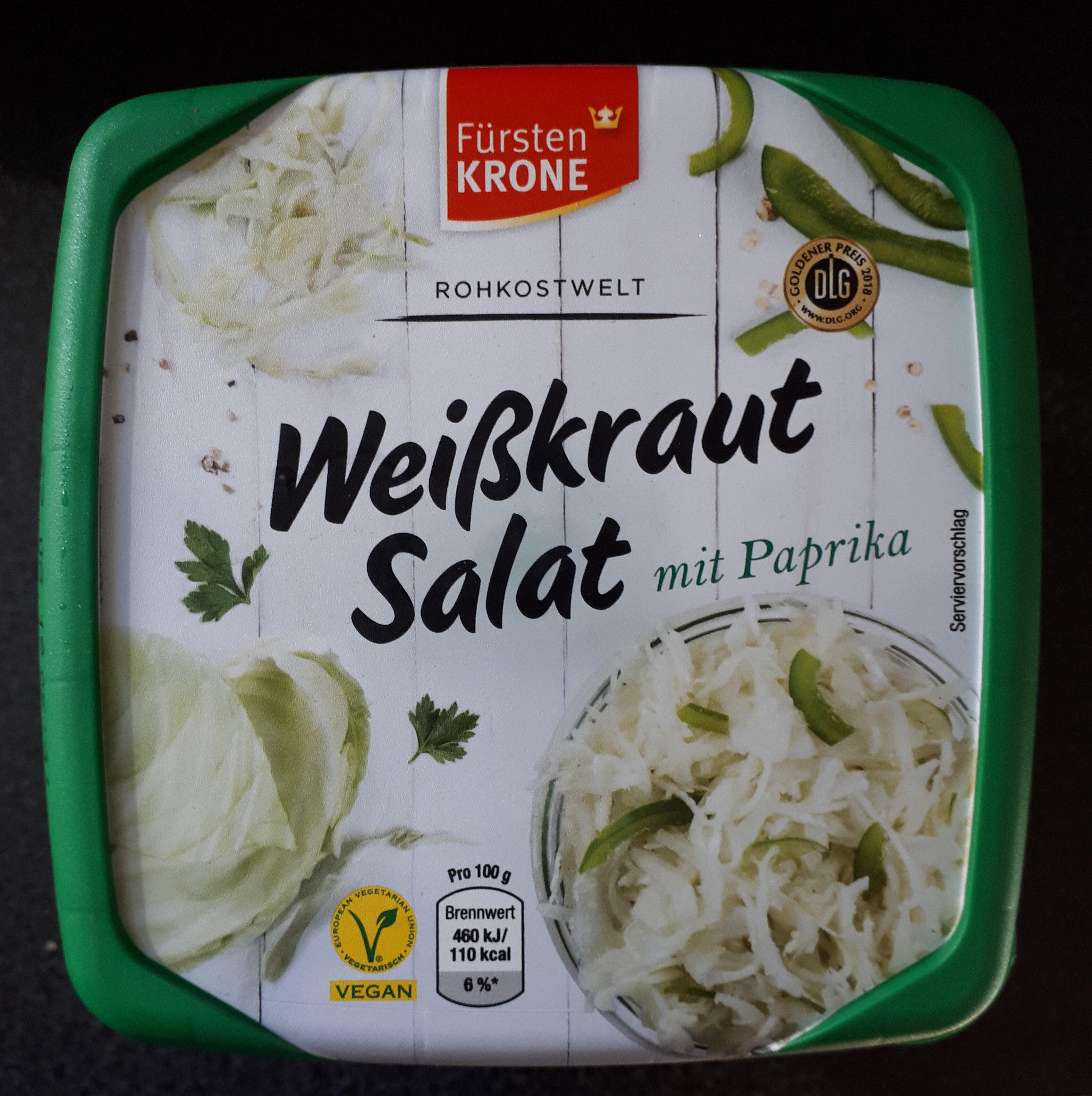 Weißkrautsalat mit Paprika - Product - de