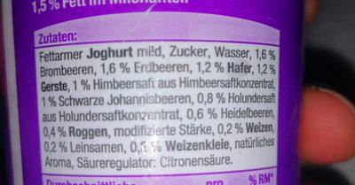 4-korn joghurt - Ingrédients - fr