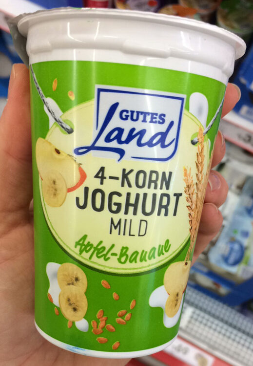 4-Korn-Joghurt mild Apfel-Banane - Product