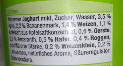 4-Korn-Joghurt mild Apfel-Banane - Ingredients