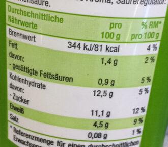 4-Korn-Joghurt mild Apfel-Banane - Informations nutritionnelles - de