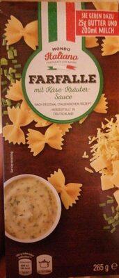 Farfalle mit Käse-Kräuter Sauce - Produkt - de