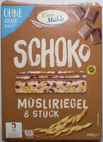 Schoko Müsliriegel - Produkt - de