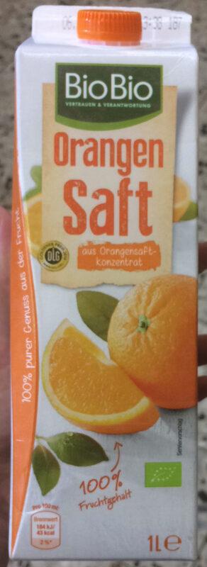 Bio Bio Orangensaft - Produit - fr