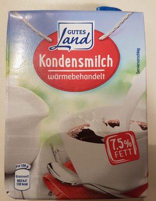 Gutes Land Kondensmilch 7.5% - Produkt