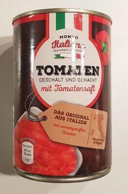 Tomaten, geschält und gehackt - Produkt - en
