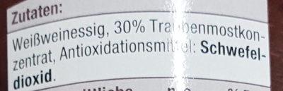 Condimento it - Inhaltsstoffe
