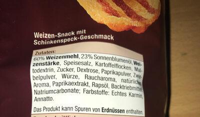 Bacon Snack - Ingredients - de