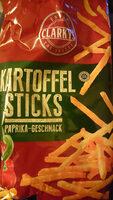 Kartoffel-Sticks Paprika-Geschmack - Produit - de