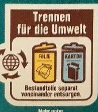 Wildlachs ohne Haut - Wiederverwertungsanweisungen und/oder Verpackungsinformationen - de