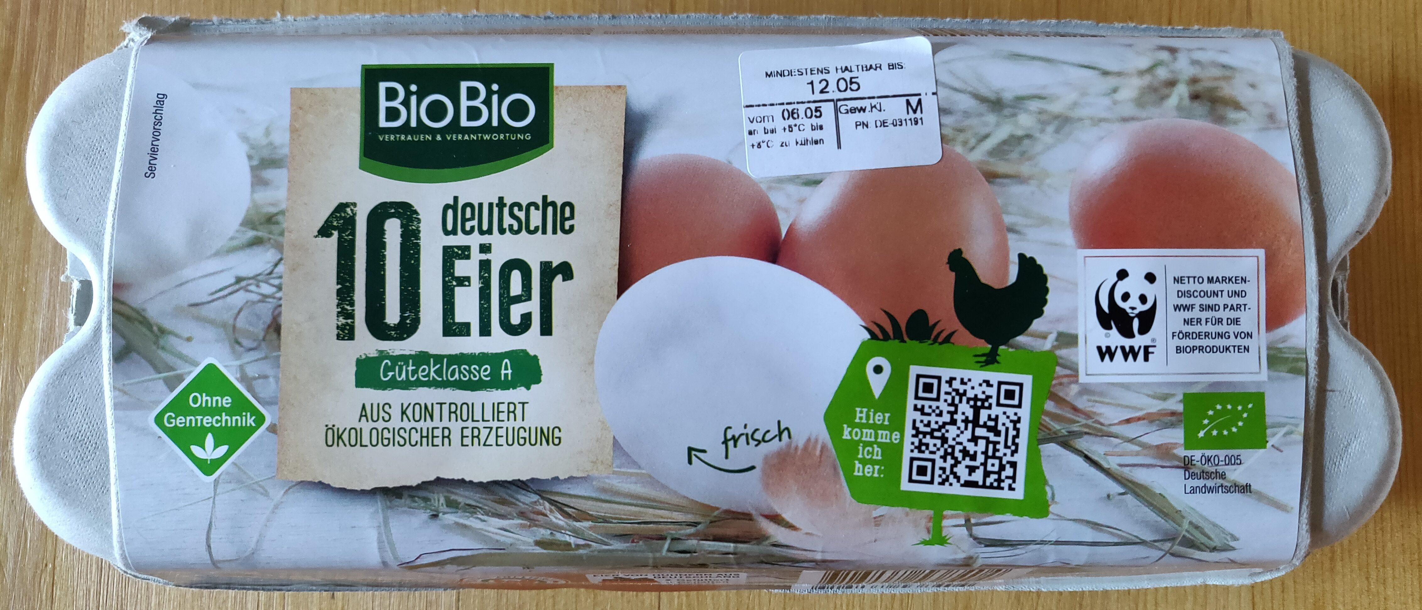 10 deutsche Eier - Produit - de