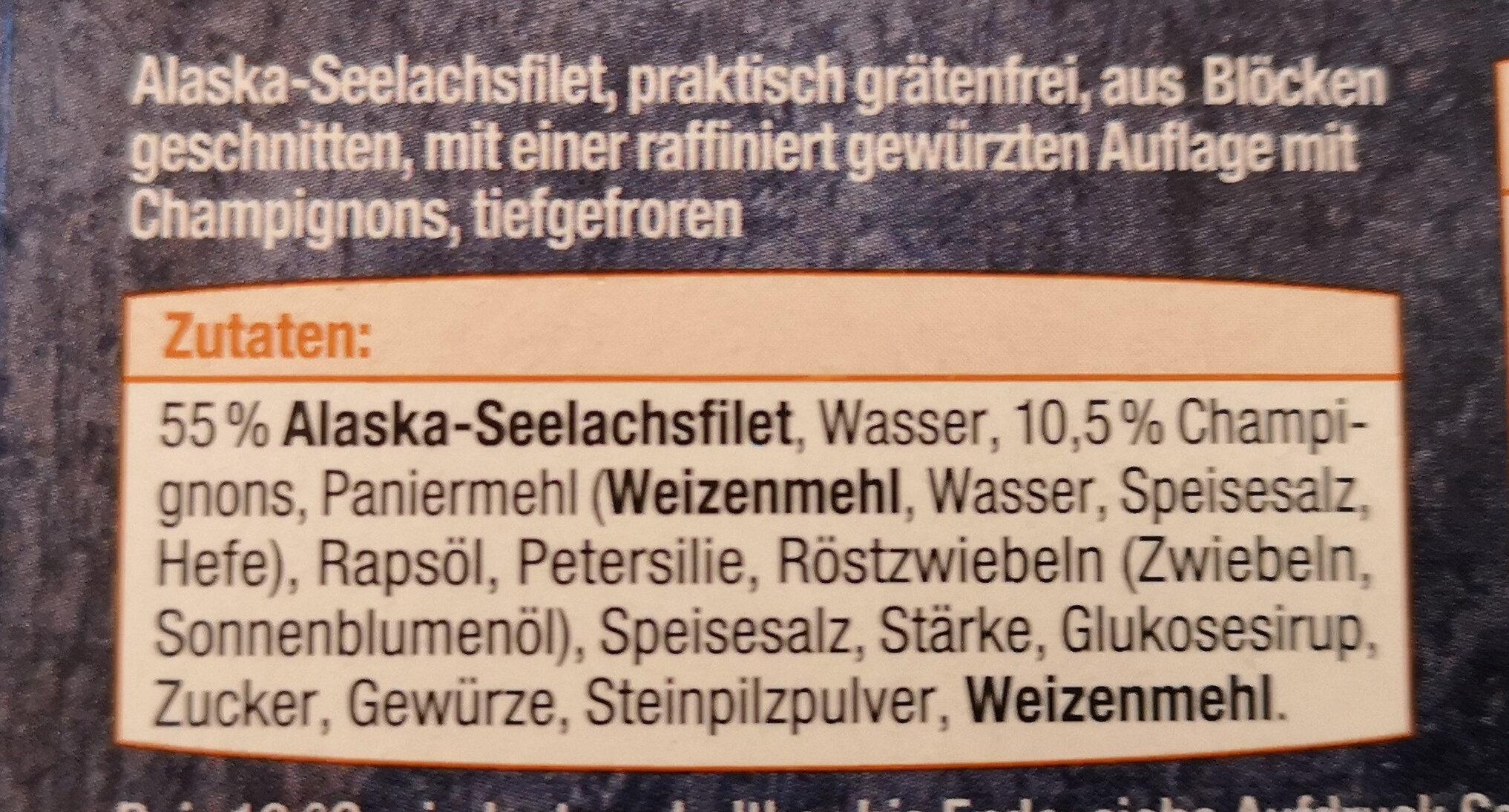 Schlemmer Filet Champignon - Ingredients