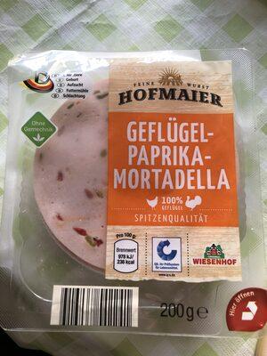 Geflügel Paprika-Mortadella - Product
